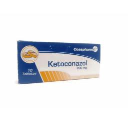 Ketoconazol 200 Mg * 10...