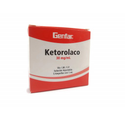 Ketorolaco 30 Mg / Ml...