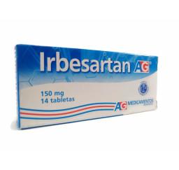 Irbesartan AG 150 Mg X 14...