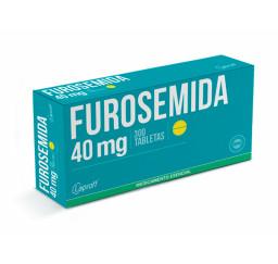 Furosemida 40 Mg X 30 Tabletas