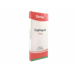 Captopril Genfar 25 Mg X 30...