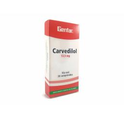 Carvedilol Genfar 12.5 Mg X...
