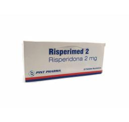 Risperidona 2mg X 20 Tabletas