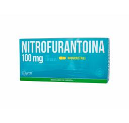 Nitrofurantoina 100 Mg X 10...