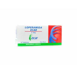 Loperamida Ecar 2 Mg X 6...