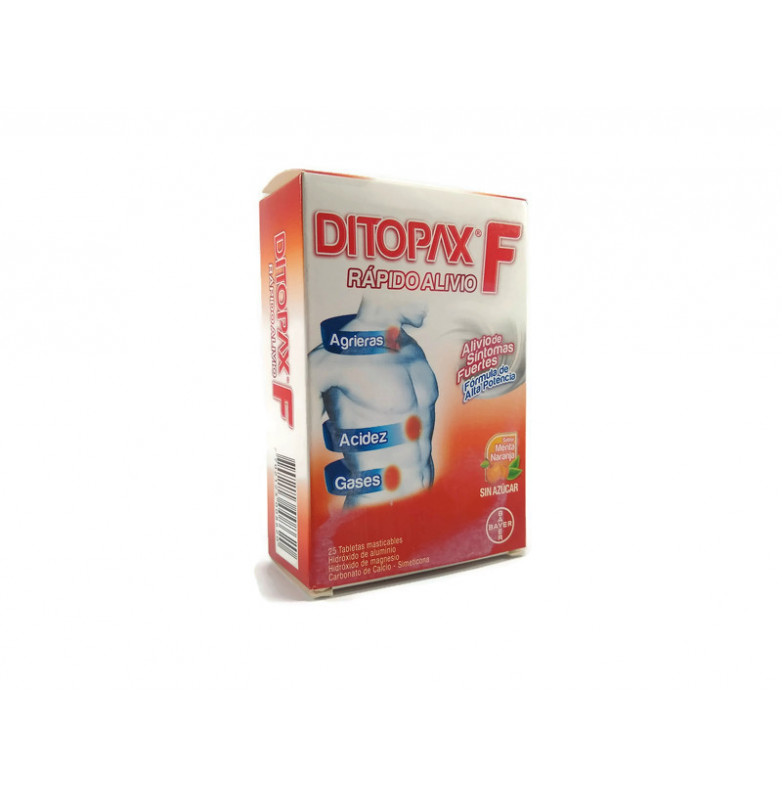 Ditopax F  Tabletas 470...