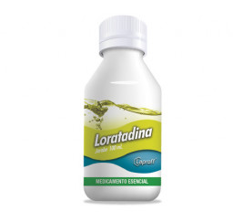 Loratadina 5mg / 5 ml...