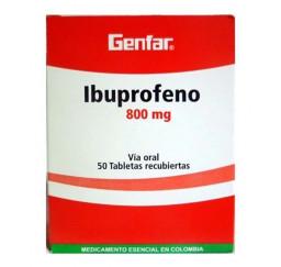 Ibuprofeno Genfar 800 Mg X...