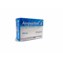 Amoxicilina AG 500 Mg X 10...