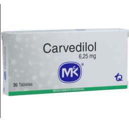 Carvedilol MK 6.25 Mg X 30...