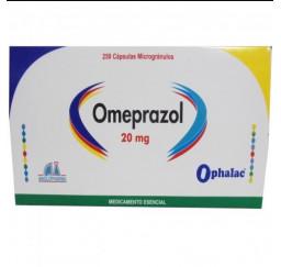 Omeprazol 20 Mg * 250 Capsulas