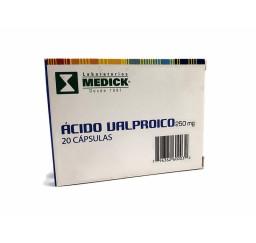 Ácido Valproico 250 Mg X 20...