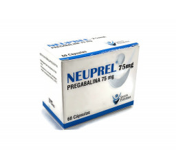 Pregabalina 75 mg X 60...