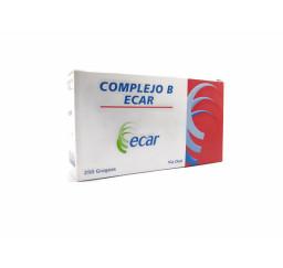 Complejo B Ecar X 30 Grageas