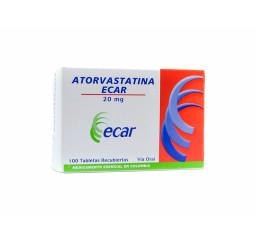 Atorvastatina  20 Mg X 10...
