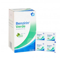 Benzirin verde 4 tabletas...