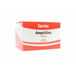 Ampicilina Genfar 500 Mg X...