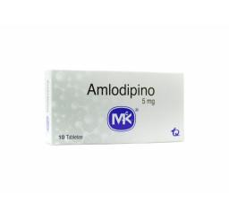 Amlodipino 5 mg * 10 tabletas
