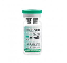 Omeprazol 40 mg ampolla I.V.