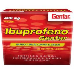 Ibuprofeno Genfar 400 MG x...