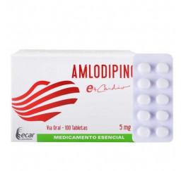 Amlodipino 5 mg * 10...