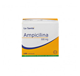Ampicilina  500 Mg X 10...