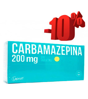 Oferta en Carbamazepina Laproff 200 Mg